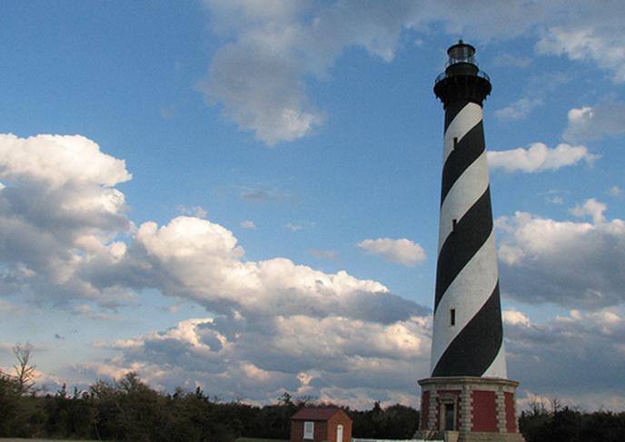 Cape Hatteras Lighthouse.