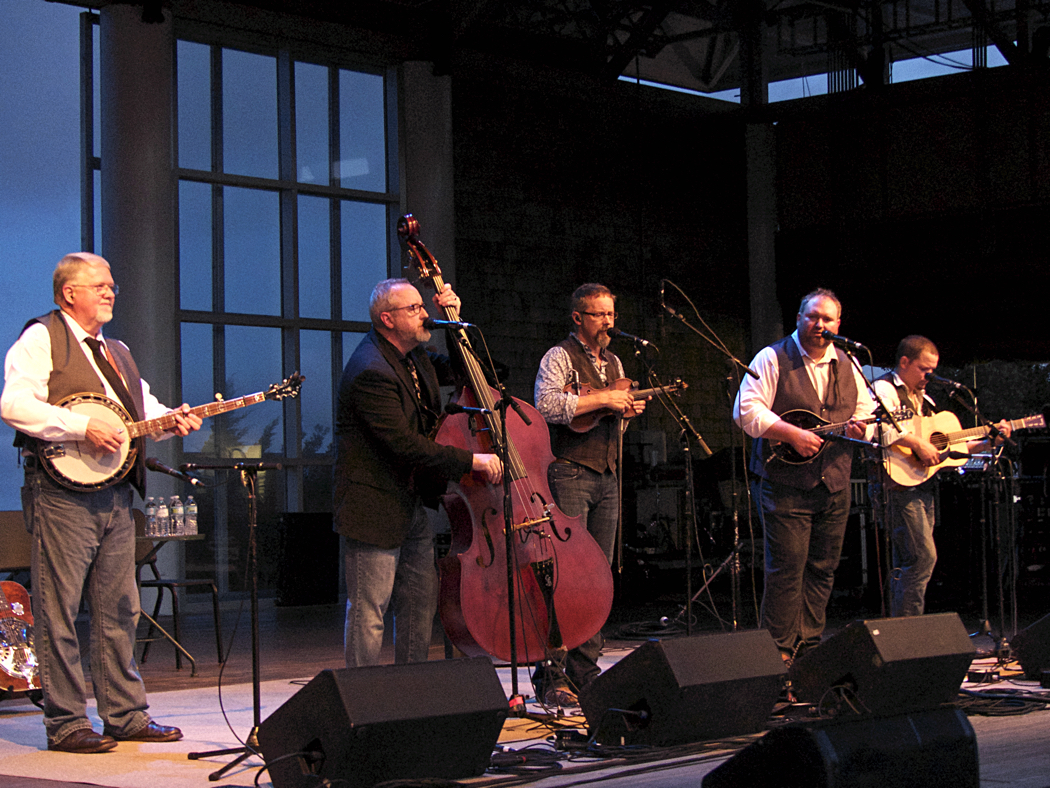 Balsam Range performing Thursday evening at the Outer Banks Bluegrass Festival.