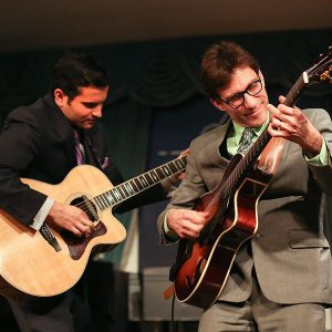 Frank Vignola and Vinny Raniolo, headline the 10th Annual Duck Jazz Festival.
