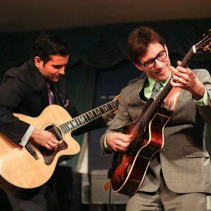 Frank Vignola and Vinny Raniolo, headline the 10th Annual Duck Jazz Festival.