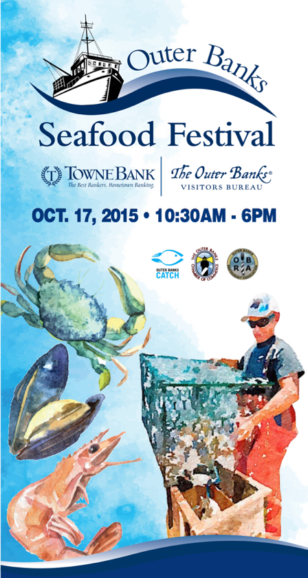 Outer Banks Seafood Festival this Saturday.