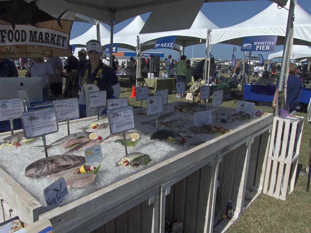 It's all about seafood at the Outer Banks Seafood Festival.