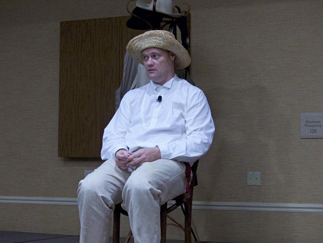 Ryan Clemens as Huckleberry Finn.
