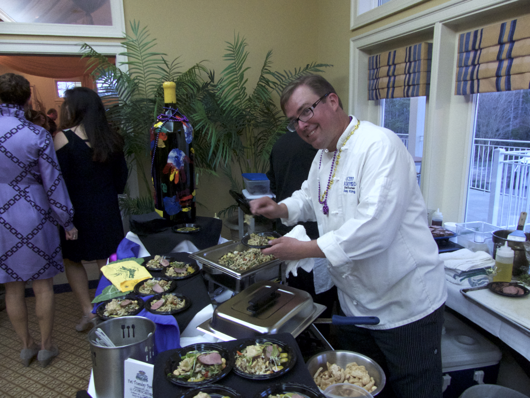 Chef Donny King, Ocean Boulevard, at the 16th Annual Signature Chef's Auction.
