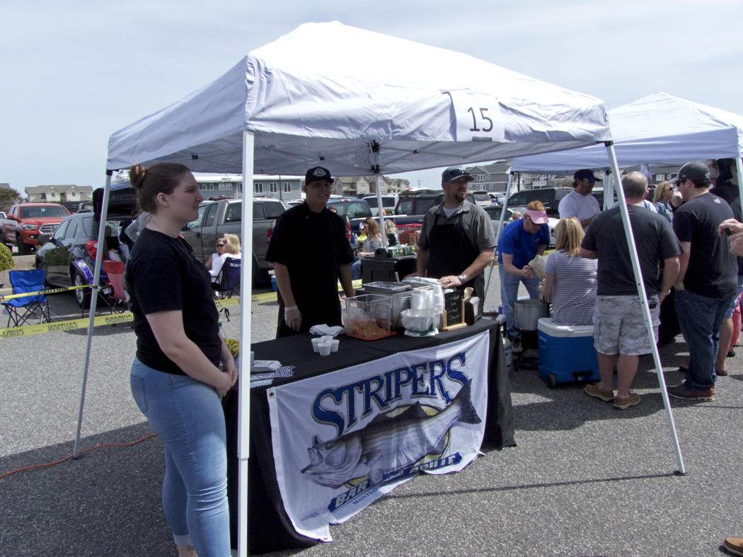 The Chowder Cook-off winner, Stripers.