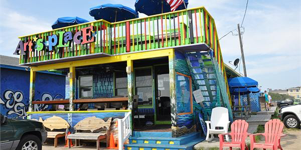 By a narrow margin, Art's Place in Kitty Hawk gets our nod for best burger.