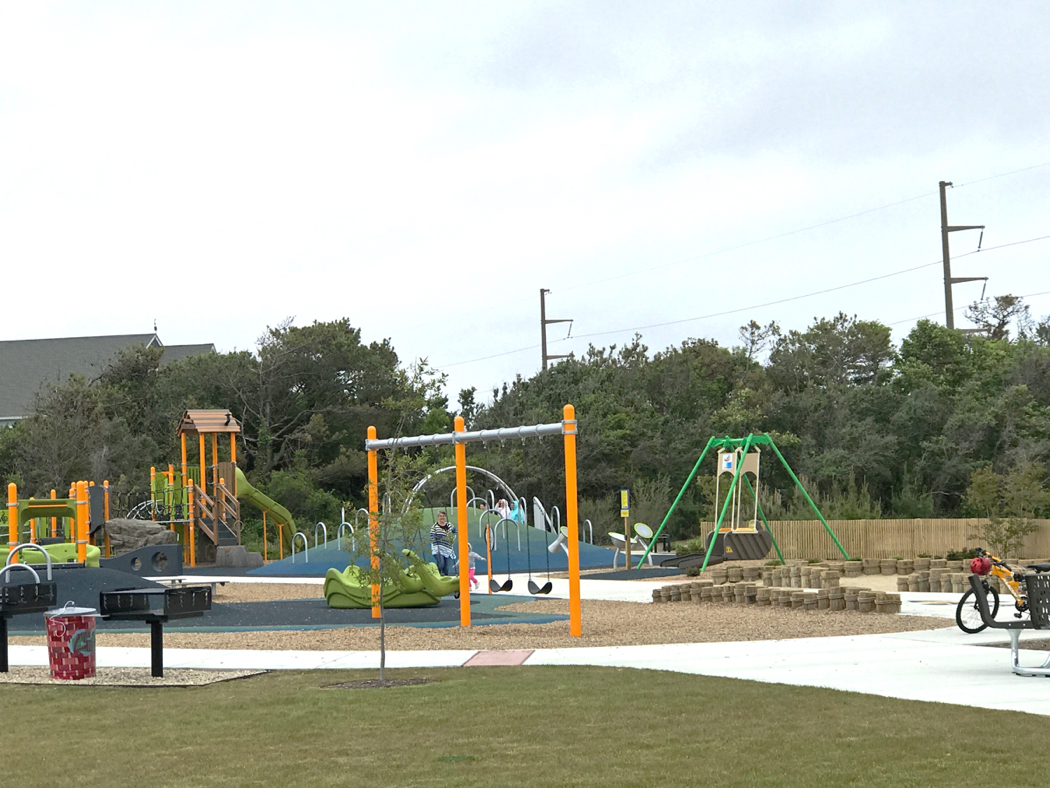 A children's playground and walking/jogging path are just some of the features at Dowdy Park.