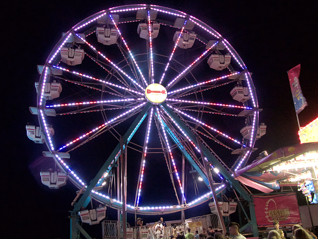 Every carnival has to have one--the Ferris Wheel at the 2nd Annual Fun Fair.