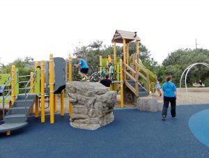 Dowdy Park--a great playground for kids.