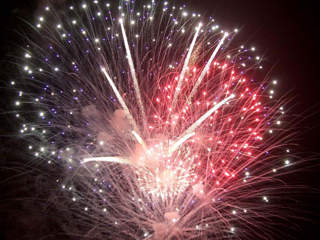 Extending the 4th of July celebration. Fireworks on the beach at Kill Devil Hills this Friday.