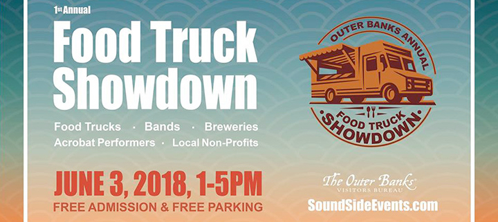 The first Outer Banks Food Truck Showdown promises to be a great time for the whole family.