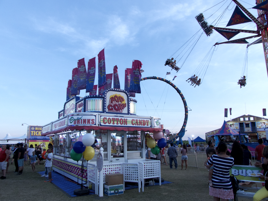 Fun Fair at Nags Head Event Site. A classic carnival. Fun Fair and Father's Day mark the real beginning of Outer Banks summer.