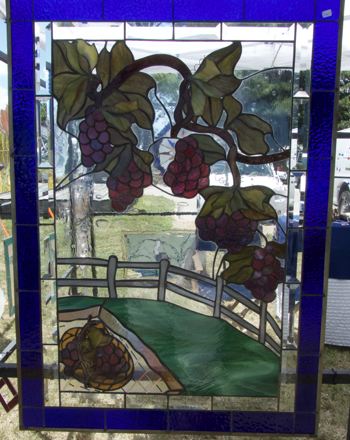 Stainglass creation. An example of the many creative ideas a the New World Festival of the Arts.