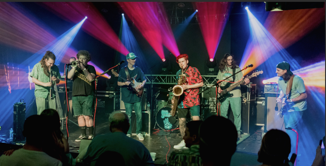 Big Something will bring their unique fusion sound to the Mustang Rock & Roast stage on Saturday evening.