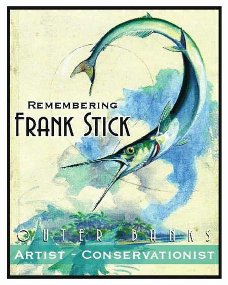 Poster for the 41st Annual Frank Stick Memorial Art Show. Painting by Frank Stick.