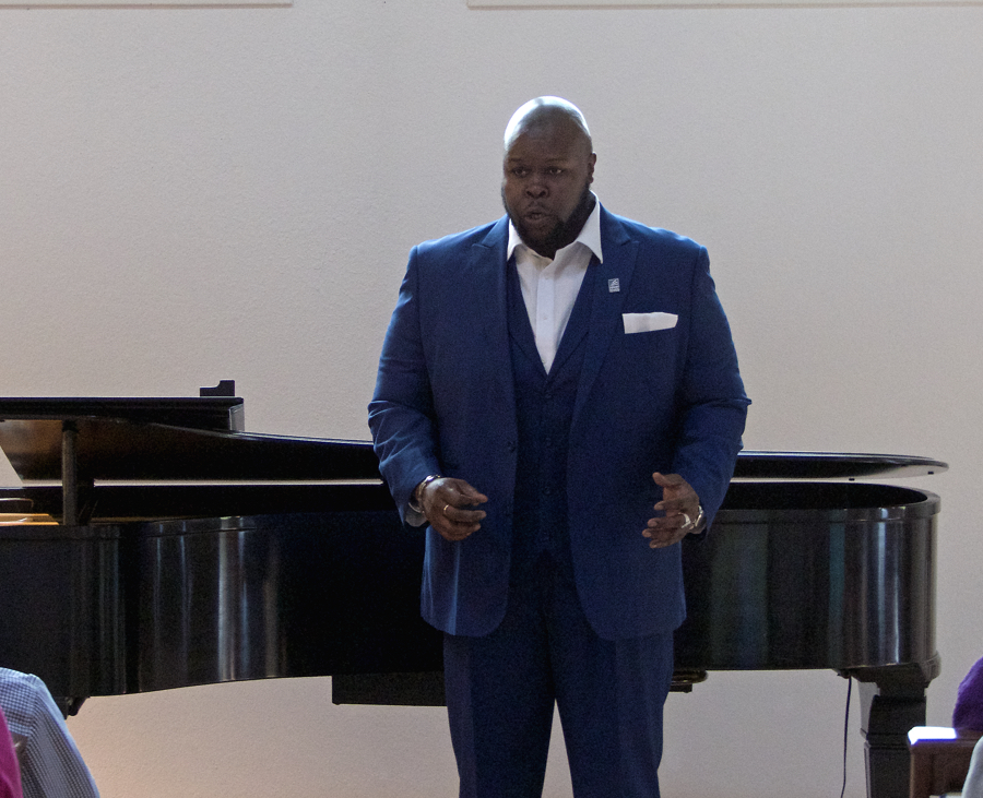 Manteo native Tshombe Selby will perform one of the title roles in Verdi's La Traviata.