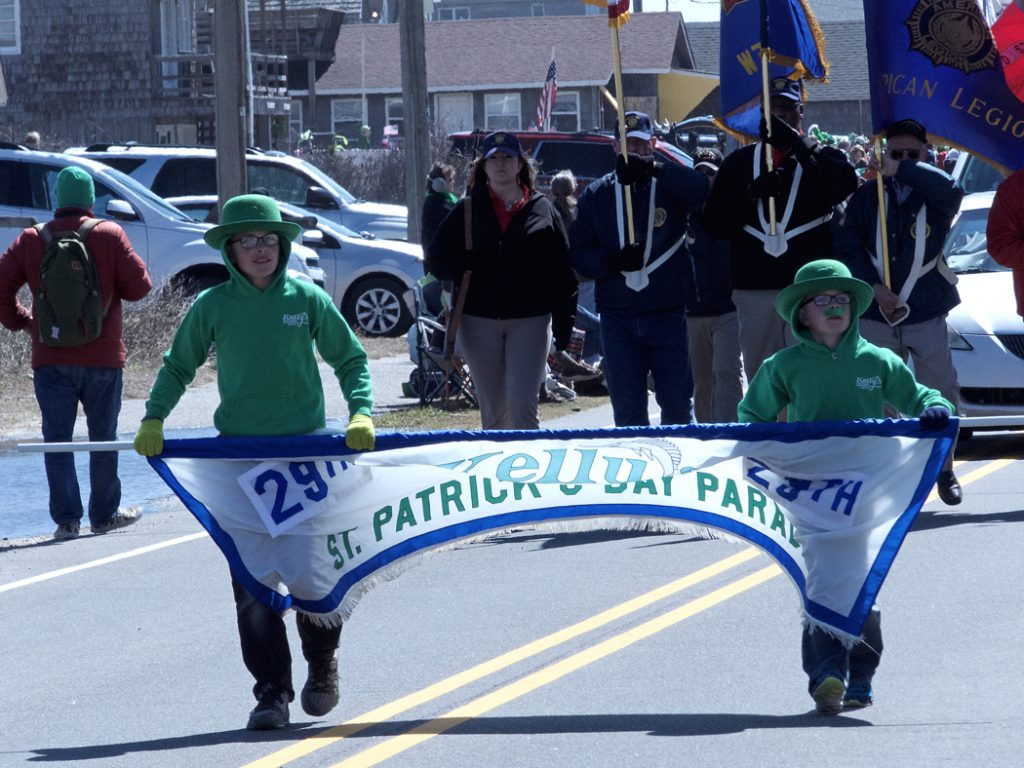 Scene from last year's 29th Annual Kelly's St. Patrick Day Parade.