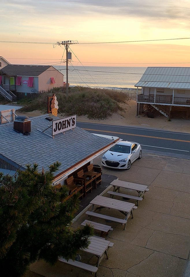 John's' Drive In on the Beach Road in Kitty Hawk has reopened for the season.
