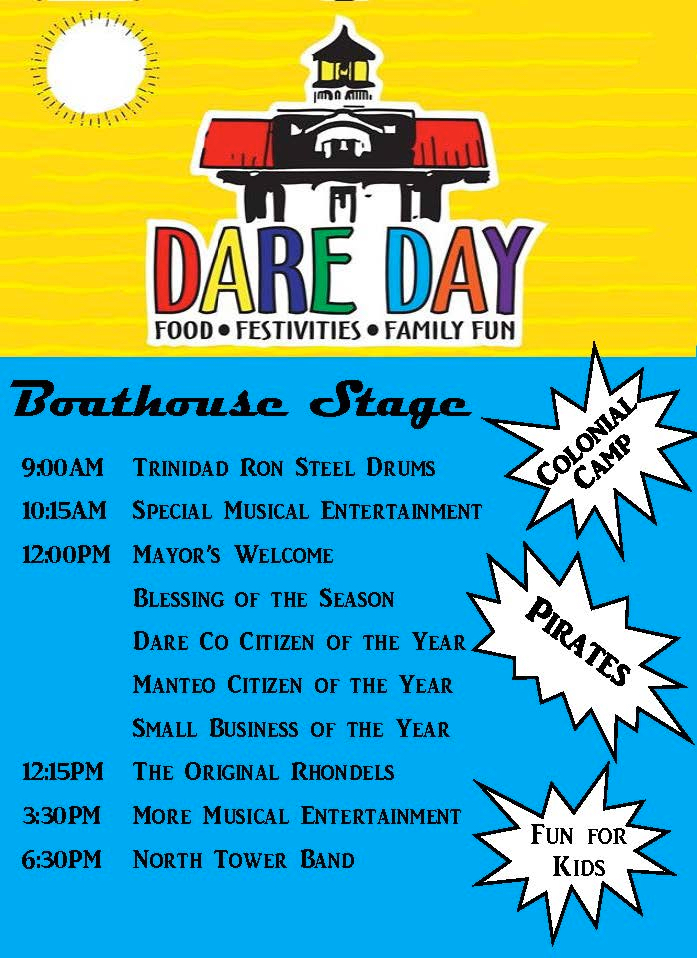 A great day of family fun is on tap at the 44th Annual Dare Days.