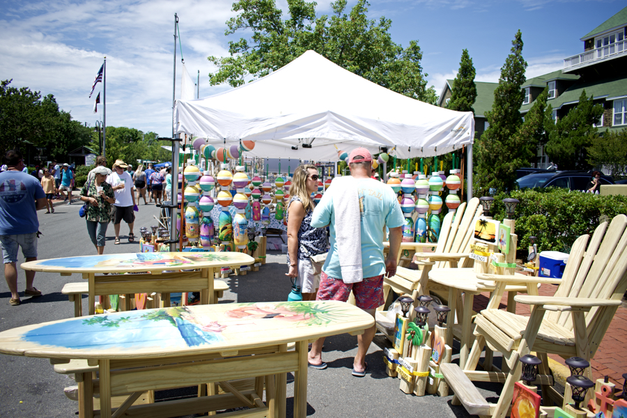 Crafts and more awaited visitors to the 44th Annual Dare Dare in Manteo on Saturday.