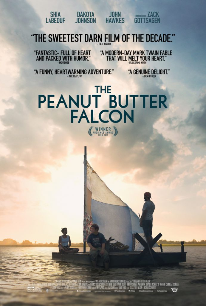 Now part of local lore, Peanut Butter Falcon has just premiered nationally.