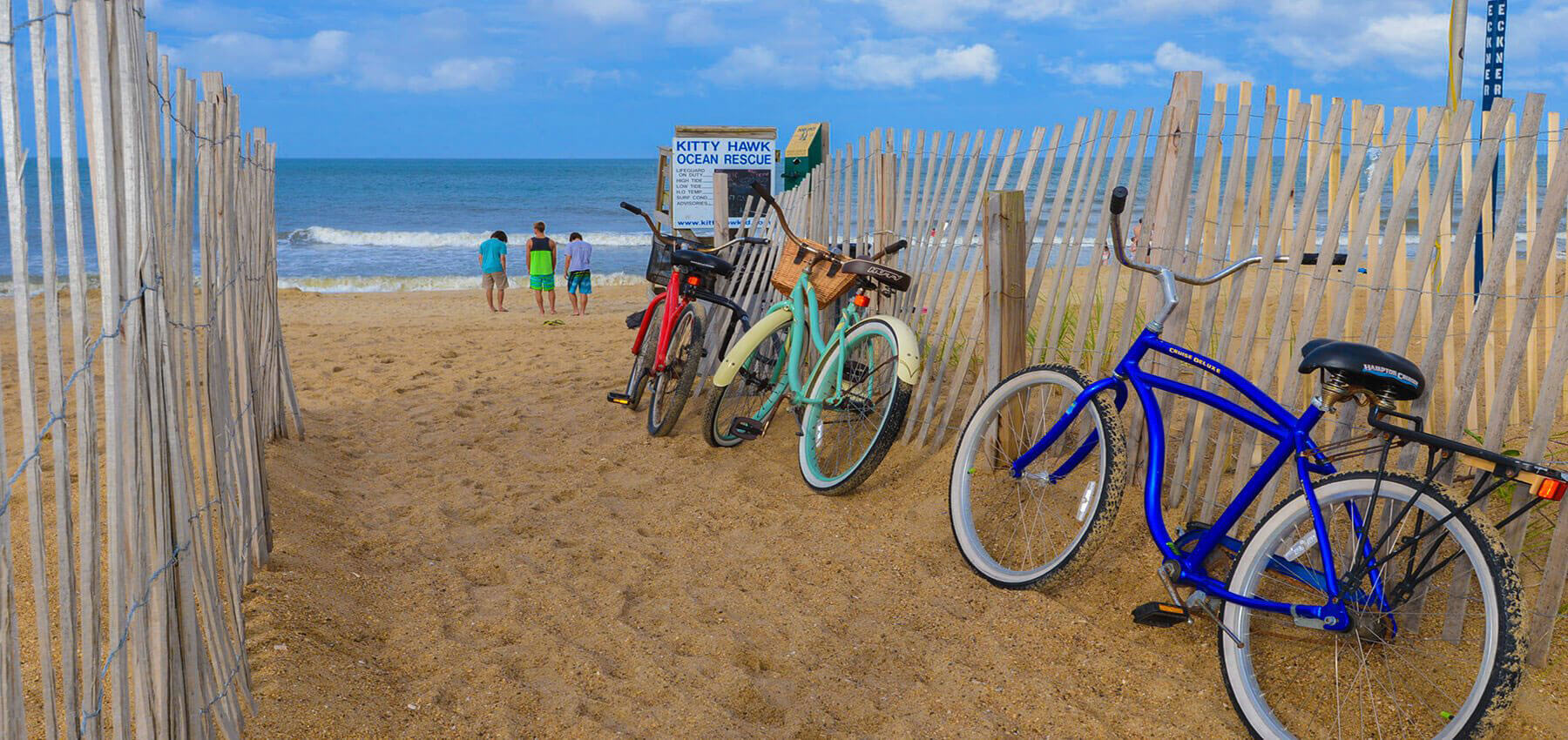 Kitty Hawk Bikes in Beach OBX