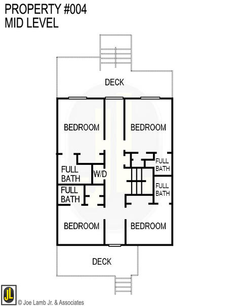 Floorplan: 004-Mid-Level-L