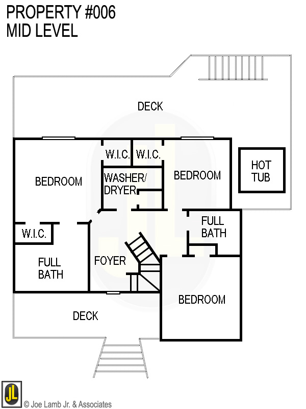 Floorplan: 006 Mid Level