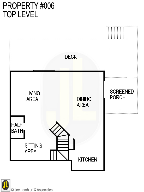 Floorplan: 006 Top Level