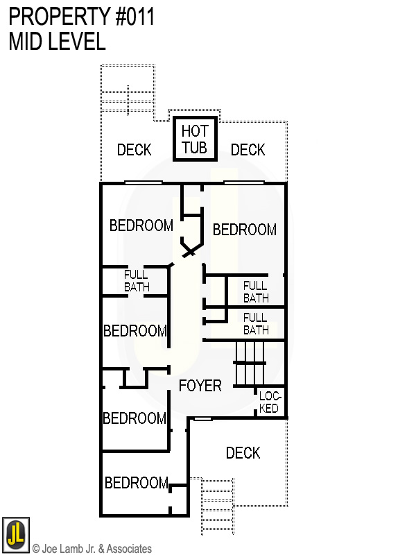 Floorplan: 011 Mid Level