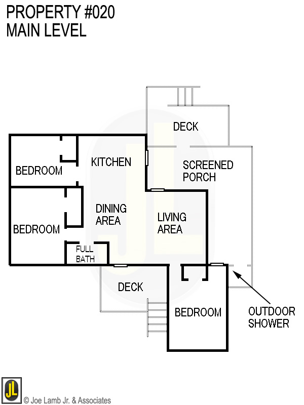 Floorplan: 020 Main Level