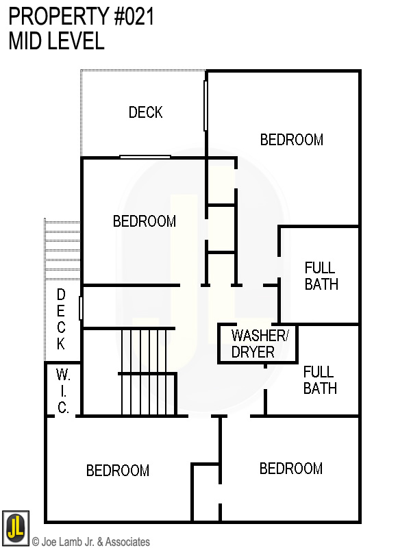 Floorplan: 021 Mid Level