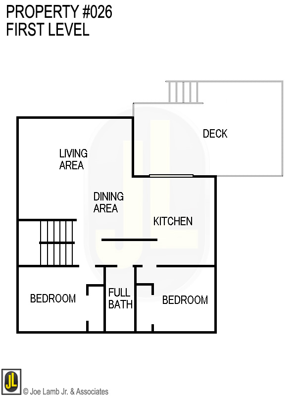 Floorplan: 026 First Level