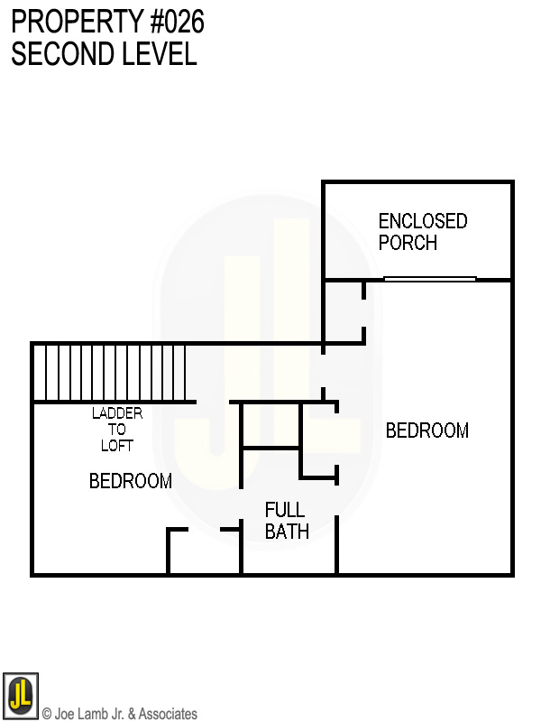 Floorplan: 026 Second Level