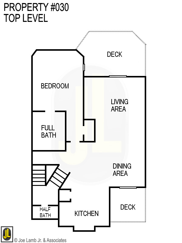 Floorplan: 030 Top Level