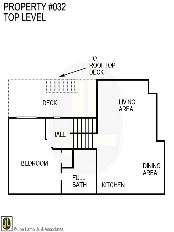 Floorplan: 032 Top Level