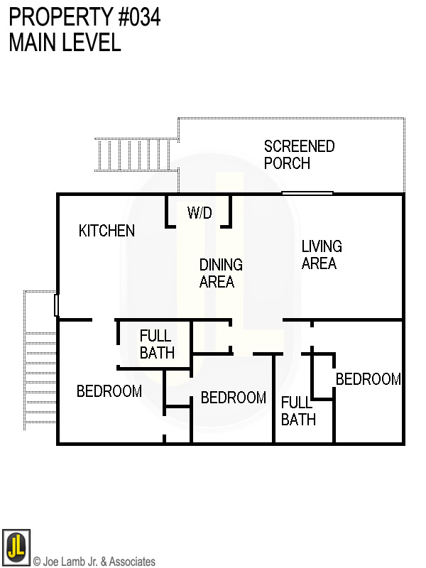 Floorplan: 034 Main Level