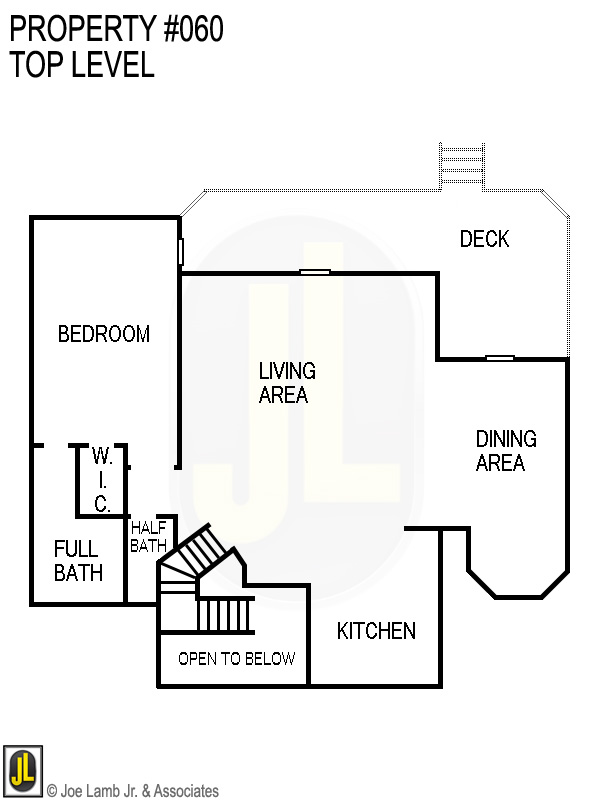 Floorplan: 060 Top Level