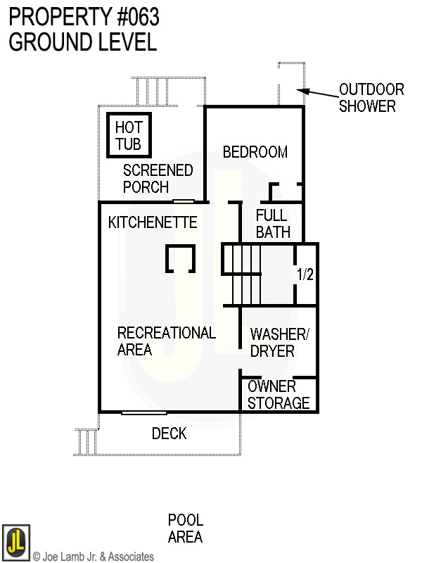 Floorplan: 063 Ground Level