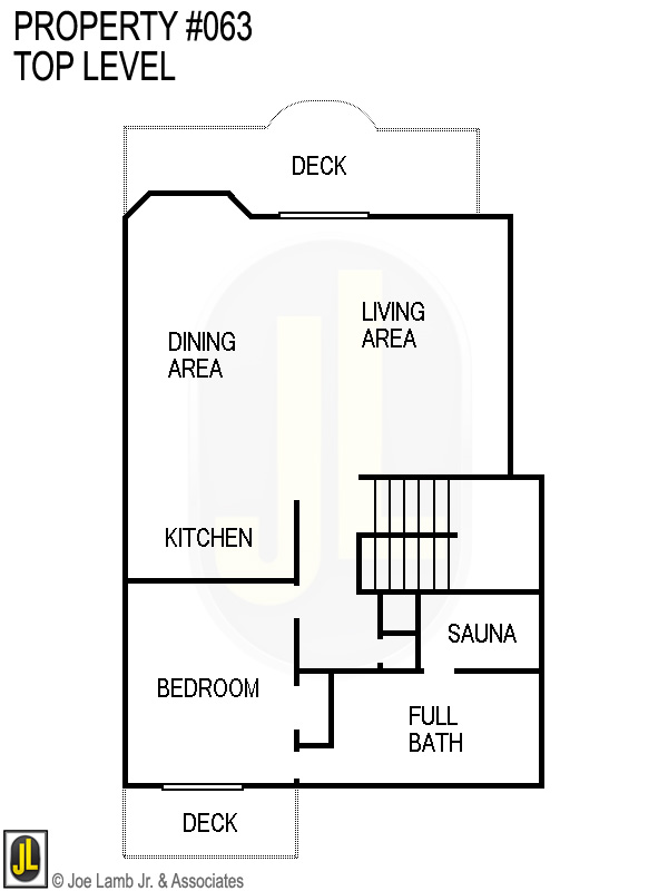 Floorplan: 063 Top Level