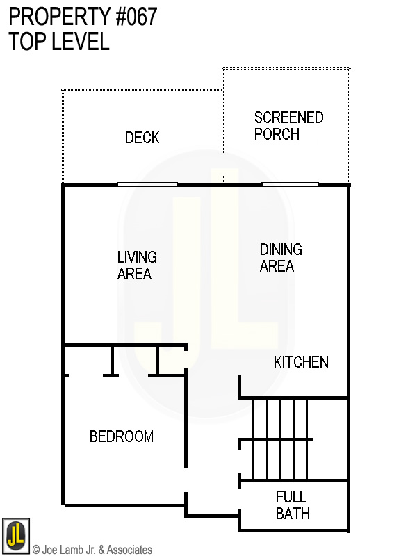 Floorplan: 067 Top Level