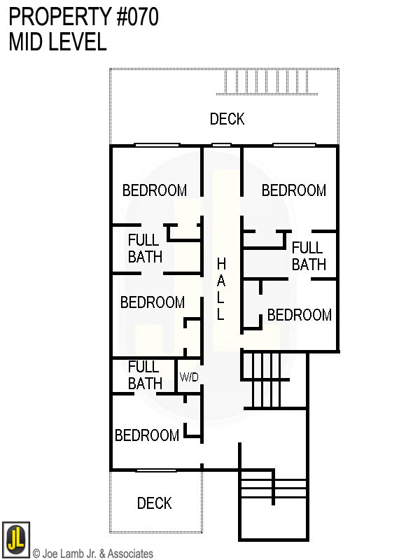 Floorplan: 070 Mid Level