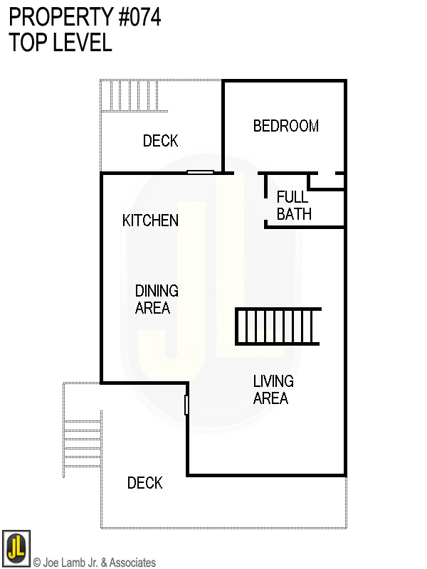 Floorplan: 074 Top Level