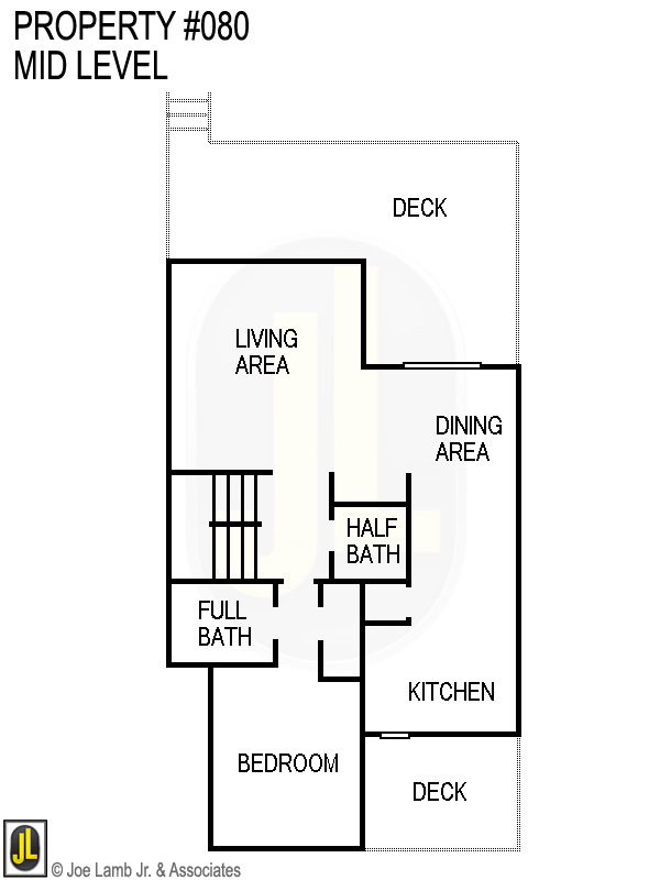 Floorplan: 080 Mid Level