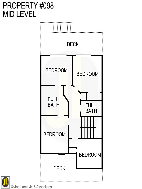 Floorplan: 098 Mid Level