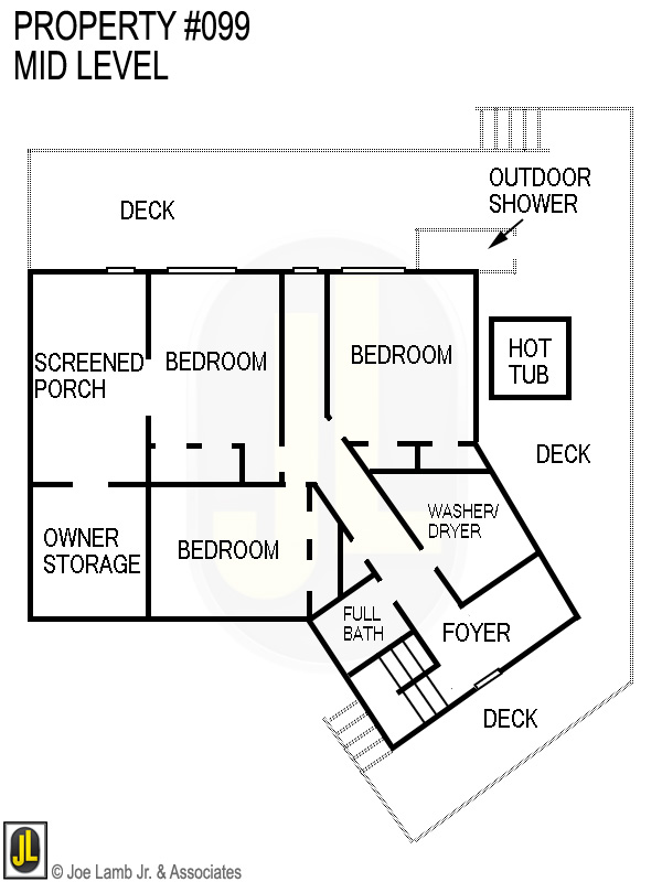 Floorplan: 099 Mid Level