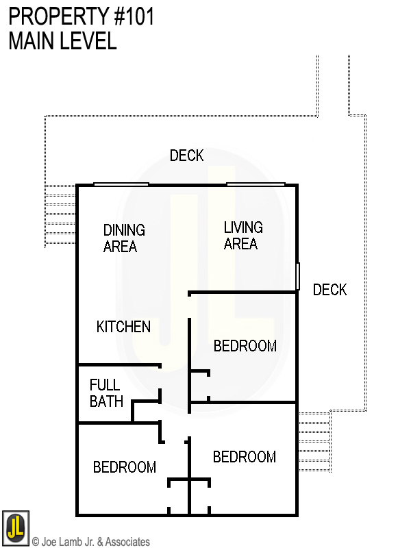 Floorplan: 101 Main Level