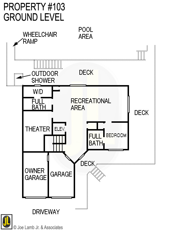 Floorplan: 103 Ground Level