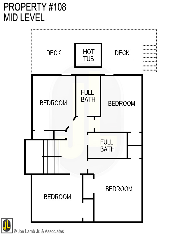 Floorplan: 108 Mid Level