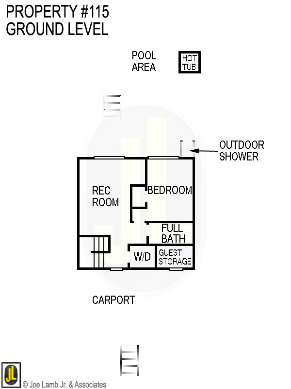 Floorplan: 115 Ground Level